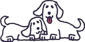 Wandtattoo bunt farbig MD299 niedlicher Hund 180 x 89 cm   Überprüfung und weitere Informationen