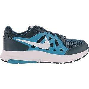 Nike Dart 11 - Zapatillas unisex, color azul marino / azul / blanco, talla 42