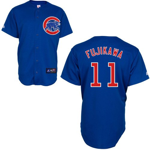 Kyuji Fujikawa Chicago Cubs Alternate Royal Replica Jersey by Majestic Select Size: Medium at Amazon.com