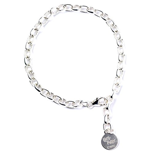 Official Childrens Harry Potter Sterling Silver Charm Bracelet - Boxed