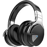 Cowin E-7 Over-Ear Wireless Bluetooth Earphones Headphones (Black)