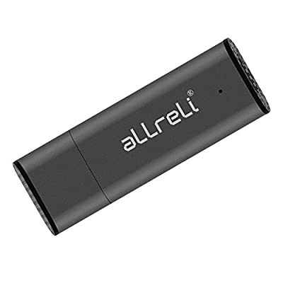 [Upgraded Version] aLLreLi CP00341 8GB USB Digital Voice Recorder for Mac & PC - Portable Rechargeable Spy Pen...