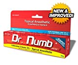 1 Tube of Dr. Numb Maximum Topical Anesthetic Anorectal Cream, Lidocaine 5% ~ Net Wt 1.06 Oz (30g)