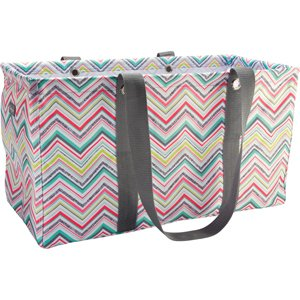 Thirty One Large Utility Tote in Party Punch