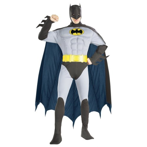 Muscle Chest Batman Costume - Medium - Chest Size 40-42