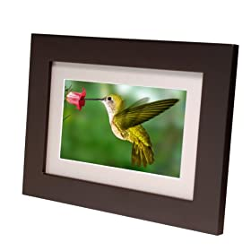 Smartparts SP72 7-Inch Digital Picture Wood Frame