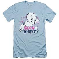 Casper The Friendly Ghost Seen Slim Fit T-Shirt