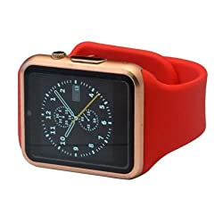 General AUX Smart Wrist Watch Touch Screen with Sim Card Slot (Red, Rose Gold)
