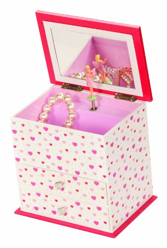 Heart Fairy Vanessa Musical Jewellery Box by Mele and Co.
