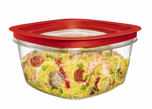Rubbermaid New Premier Food Storage Container, 14-Cup, Clear image
