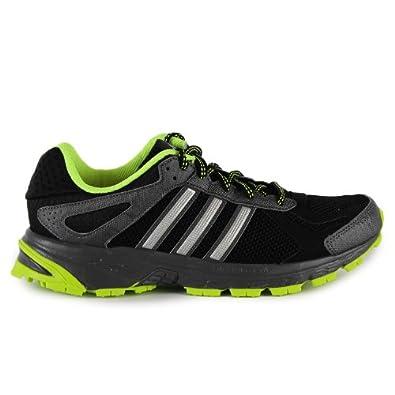Adidas Duramo 5 Trail Shoes - Black/Electricity (Mens) - 8.5