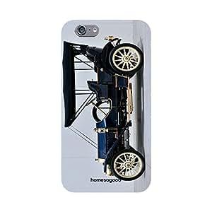 HomeSoGood Vintage Little Beauty Grey 3D Mobile Case For iPhone 6S (Back Cover)