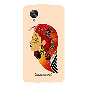 HomeSoGood Queen Of Knowledge Orange 3D Mobile Case For Samsung S5 ( Back Cover)