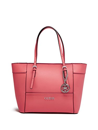 46603cfa8057 Guess Women s Delaney VY453522 Coral Small Classic Tote - Import It All