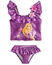 Disney Rapunzel Swimsuit for Girls - UPF 50+ (7/8)