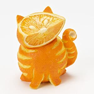 Home Grown from Enesco Orange Tabby Cat Figurine 3.2 IN