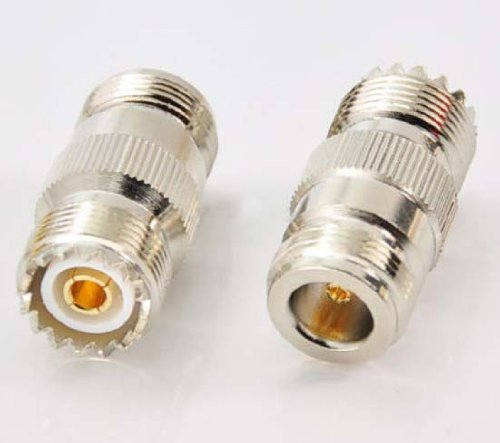 RF coaxial coax adapter N female to UHF female SO-239 SO239 connector