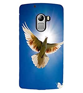 ColourCraft Beautiful Pigeon Design Back Case Cover for LENOVO VIBE K4 NOTE