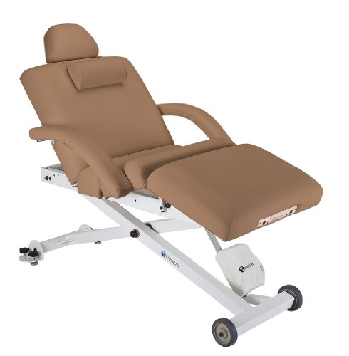 Earthlite 30-Inch Ellora Salon Top Electric Lift Massage Table (Latte)