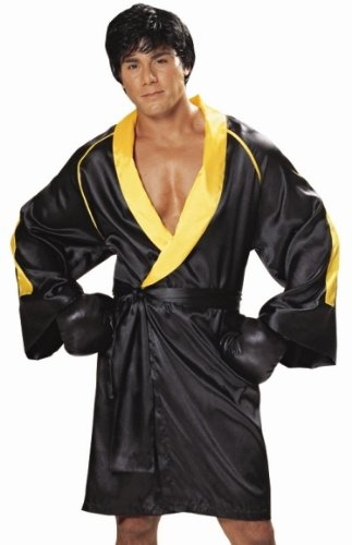 Mens Adult Boxer Outfit Rocky Balboa Halloween Costume