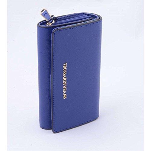 Trussardi Jeans 75p490 Portafoglio Accessori Ecopelle Blu Blu TU