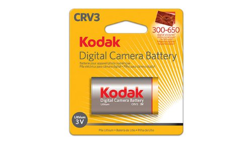 Pile pour appareil photo CRV3 Lithium Ion 3920675