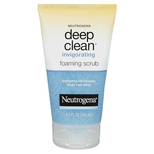 Compare Neutrogena Deep Clean Invigorating Foaming Scrub, 4.2 Ounce price online India   Comparometer