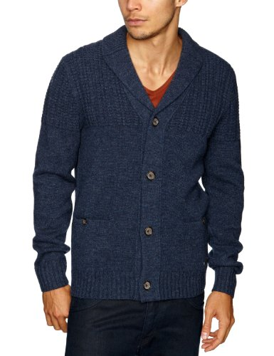 Henri Lloyd Fathom Shawl Neck Men's Jumper Indigo Medium