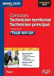 Concours Technicien territorial et Technicien principal - Tout-en-un - Catégorie B - Concours 2014