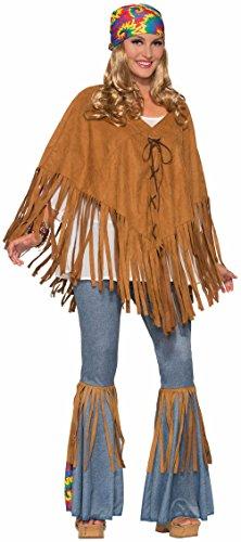 Memem (Faux Suede Hippie Vest Adult Costumes)