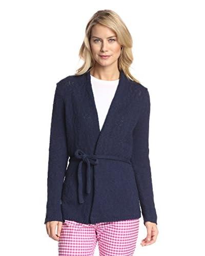 J. McLaughlin Women's Luna Belted Cardigan  [Navy]