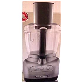 KitchenAid 7-Cup Food Processor: Contour Silver