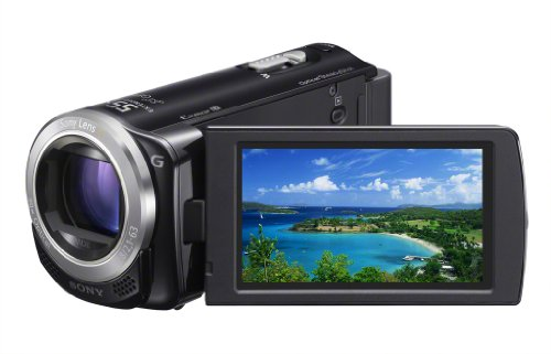 41ctDSbFWgL Sony HDR CX260V High Definition Handycam 8.9 MP Camcorder with 30x Optical Zoom and 16 GB Embedded Memory (Black) (2012 Model)
