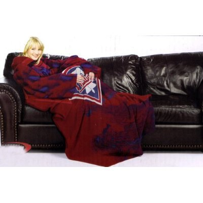 "MLB Philadelphia Phillies Comfy Throw, Blanket with Sleeves ""Smoke"" Design at Amazon.com"