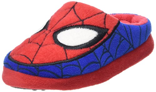 SpidermanBoys Teens Pancake/Mule Houseshoes - Ciabatte Bambino , Rosso (Rot (Cbl/RED/WHT 627)), 27