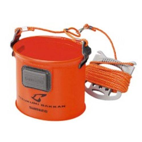 シマノ 水汲みバッカン ISO BK-051C 19? オレンジ 937438