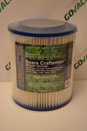 Sears Craftman Wet/dry 12 & 16 Gallon Vacuum Filter