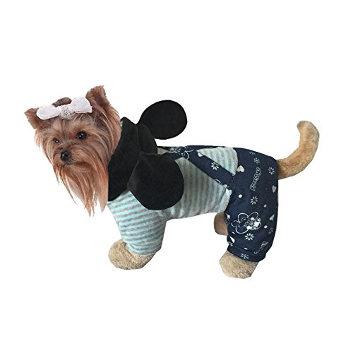 [Hong Fashion Autumn and Winter Pet Costume Mickey Costumes for Dogs and Cats to Keep Warm (S)] (Incredibles Costumes Designer)