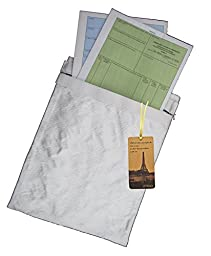 Utrax Fireproof Pouch Fire Resistant Document Bag File Envolope Anti Fire Storage Seal Pockets