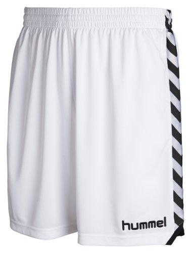 Hummel - Pantaloni corti Stay Authentic, poliestere, Bianco (bianco), XL