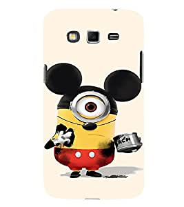 EPICCASE Mickey Sytled Minion Mobile Back Case Cover For Samsung Galaxy Grand Neo Plus (Designer Case)
