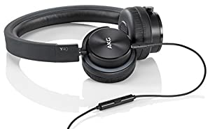 [Domestic regular goods] AKG Y40 sealed on ear headphones portable black Y40BLK