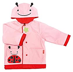 Skip Hop Zoo Raincoat, Ladybug, Medium