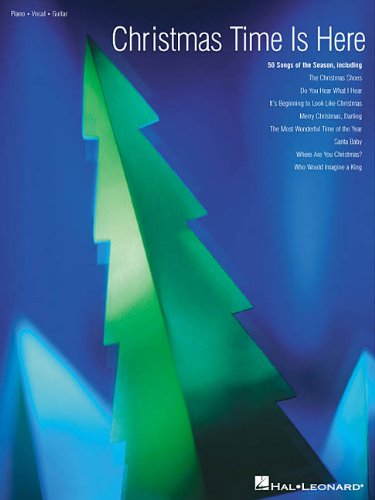 Christmas Time Is Here (Piano/Vocal/Guitar Songbook)