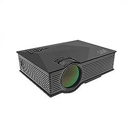 CROCON UC46 WIFI LED Projector 1200 Lumens HDMI USB VGA AV SD Card Home Theater
