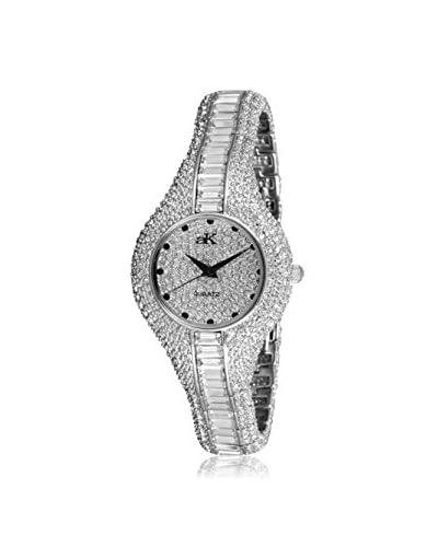 Adee Kaye Women's AK9-68L Corona Royal Collection Crystal & Brass Watch