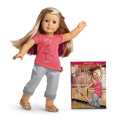American Girl Isabelle - Isabelle Doll and Paperback Book - American Girl of 2014 by American Girl