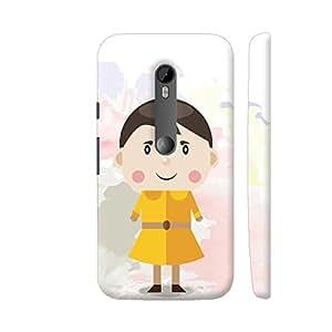 Colorpur Children Cute Dress Baby Girl Artwork On Motorola Moto G Turbo Cover (Designer Mobile Back Case) | Artist: Designer Chennai