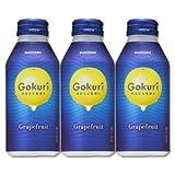 Gokuri(ゴクリ)グレープフルーツ400gボトル缶24本入サントリー