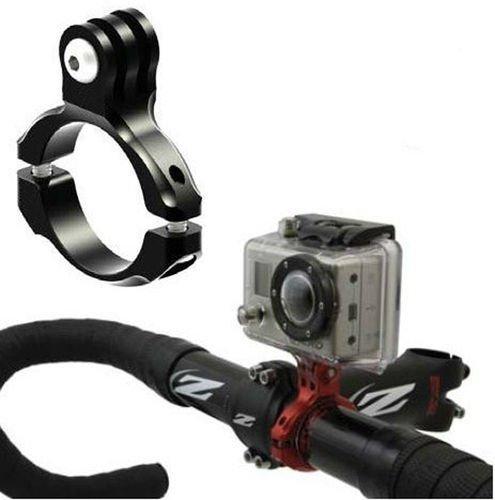 Bluefinger Bike Aluminum Handlebar Bar Adapter Pro Mount For Gopro Hd Hero3/2/1